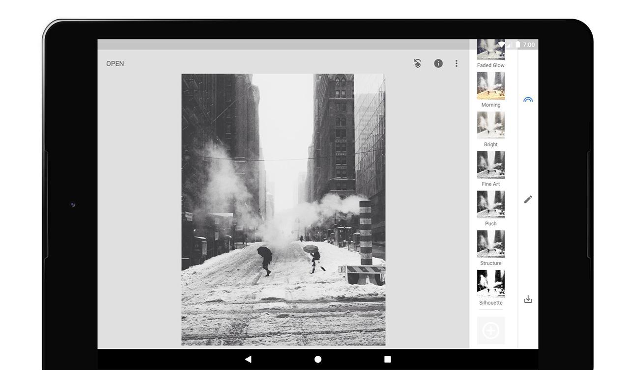 Snapseed screen 4