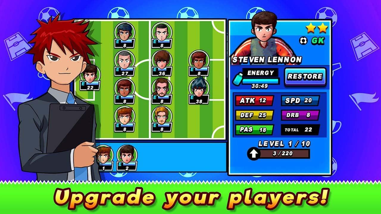 Soccer Heroes screen 1