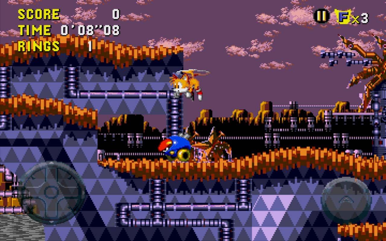 Sonic CD screen 2