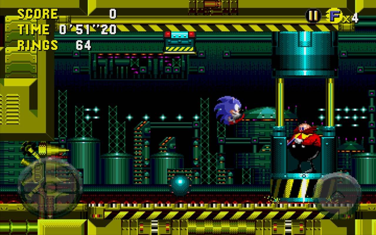 Sonic CD screen 3