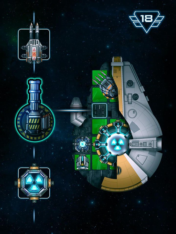 Space Arena Build a spaceship & fight screen 0