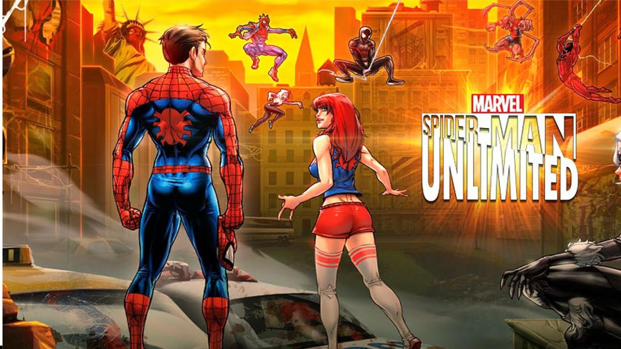 Spider Man Unlimited poster