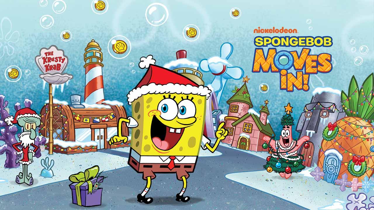 SpongeBob Moves In poster