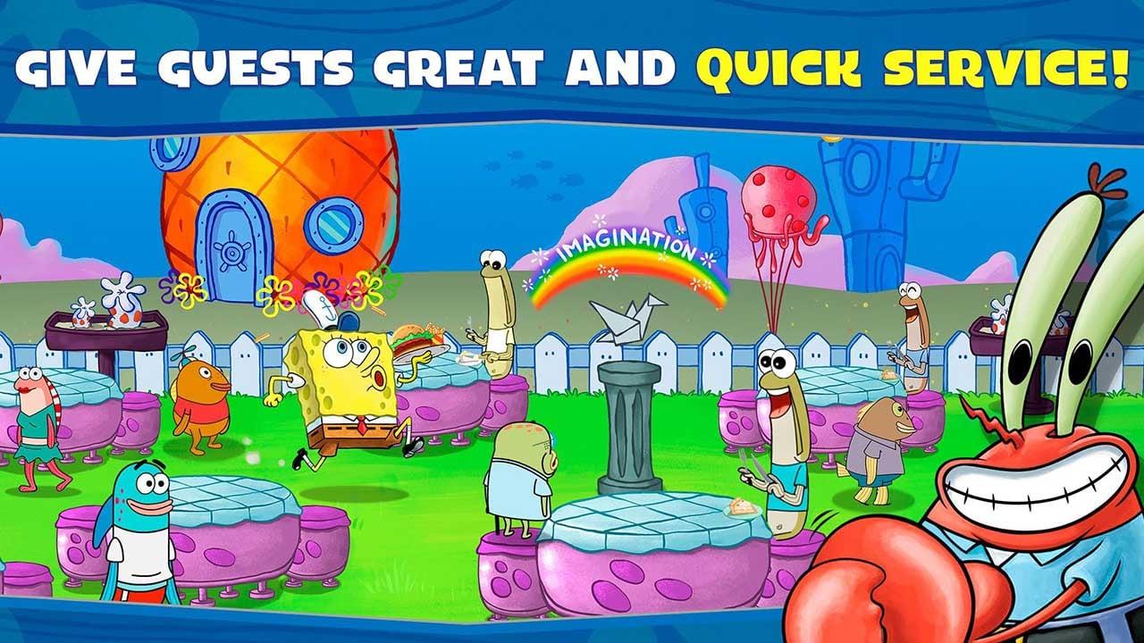 SpongeBob Moves In screen 2