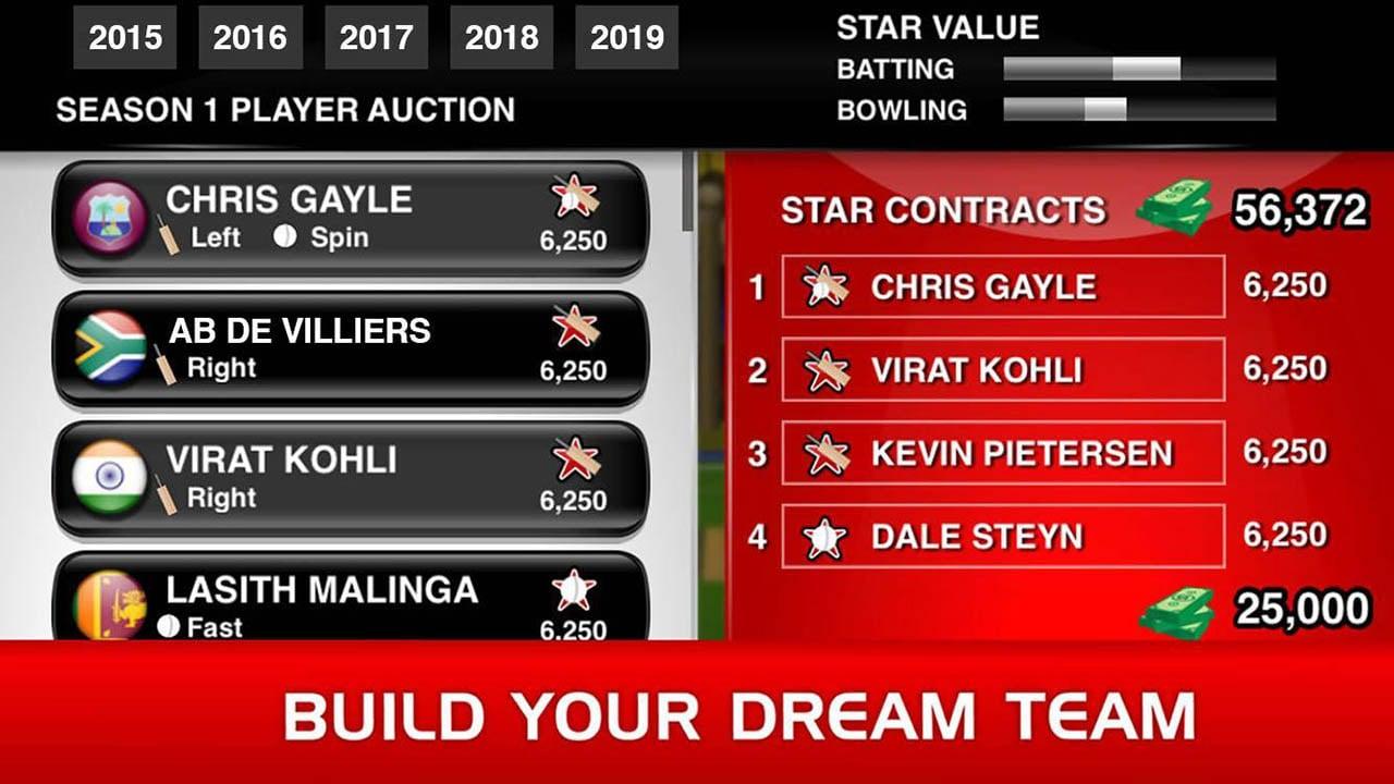Stick Cricket Premier League screen 1