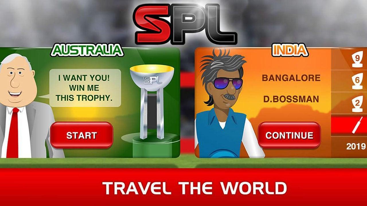 Stick Cricket Premier League screen 2