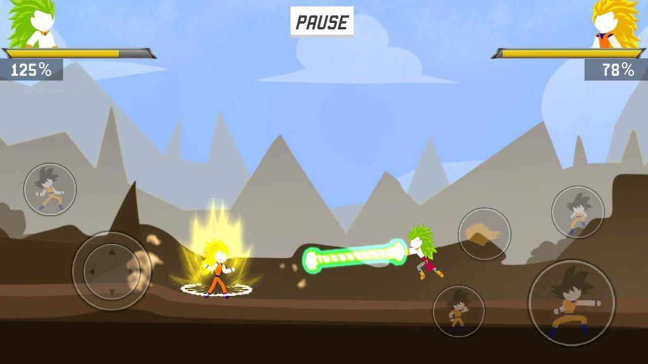 Stick Shadow War Fight screen 3
