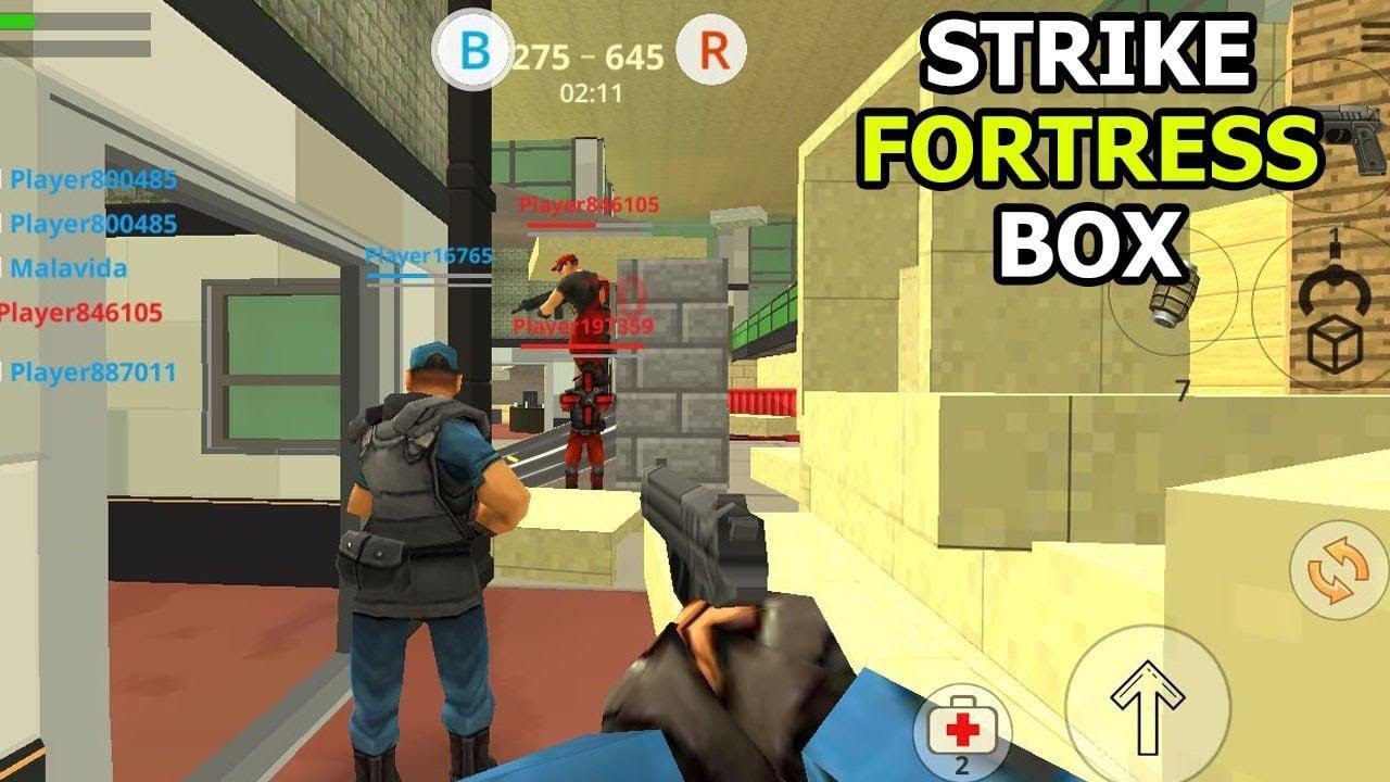 StrikeFortressBox poster