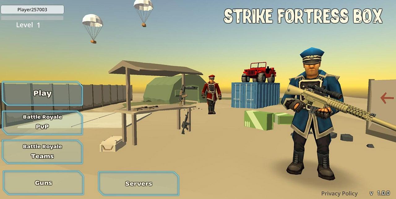StrikeFortressBox screen 1