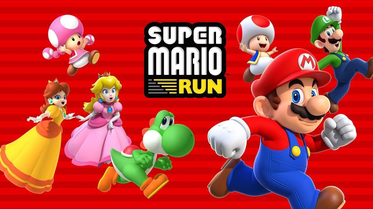 Super Mario Run poster