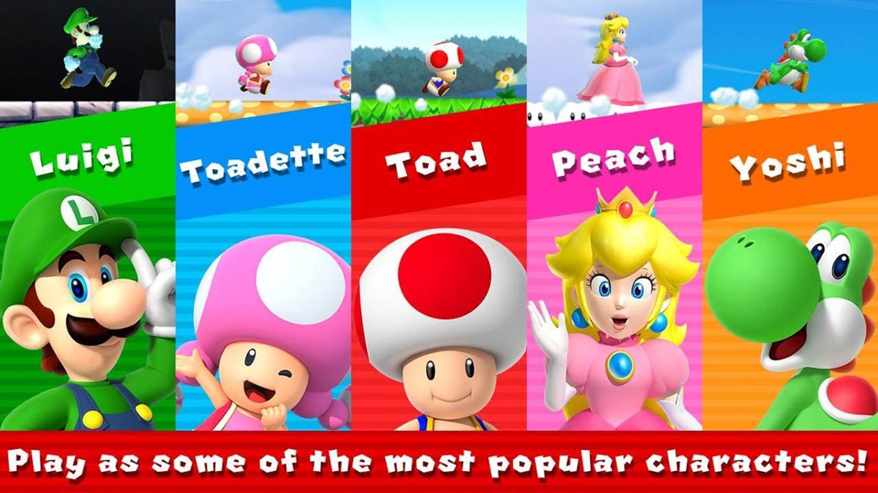 Super Mario Run screen 2