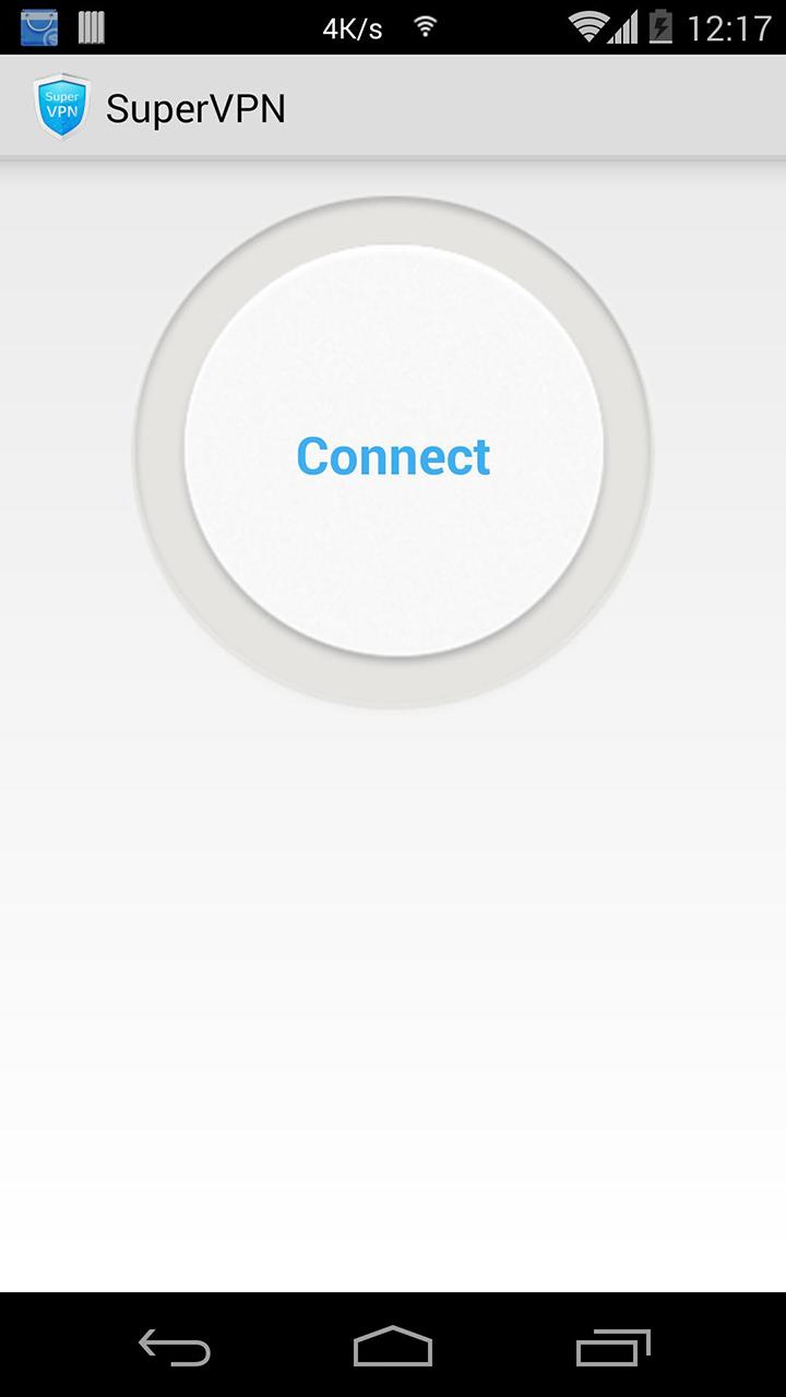Super VPN screen 0