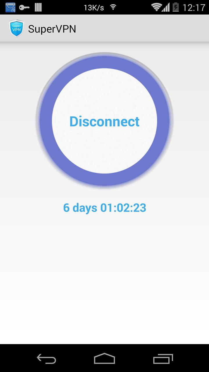 Super VPN screen 2