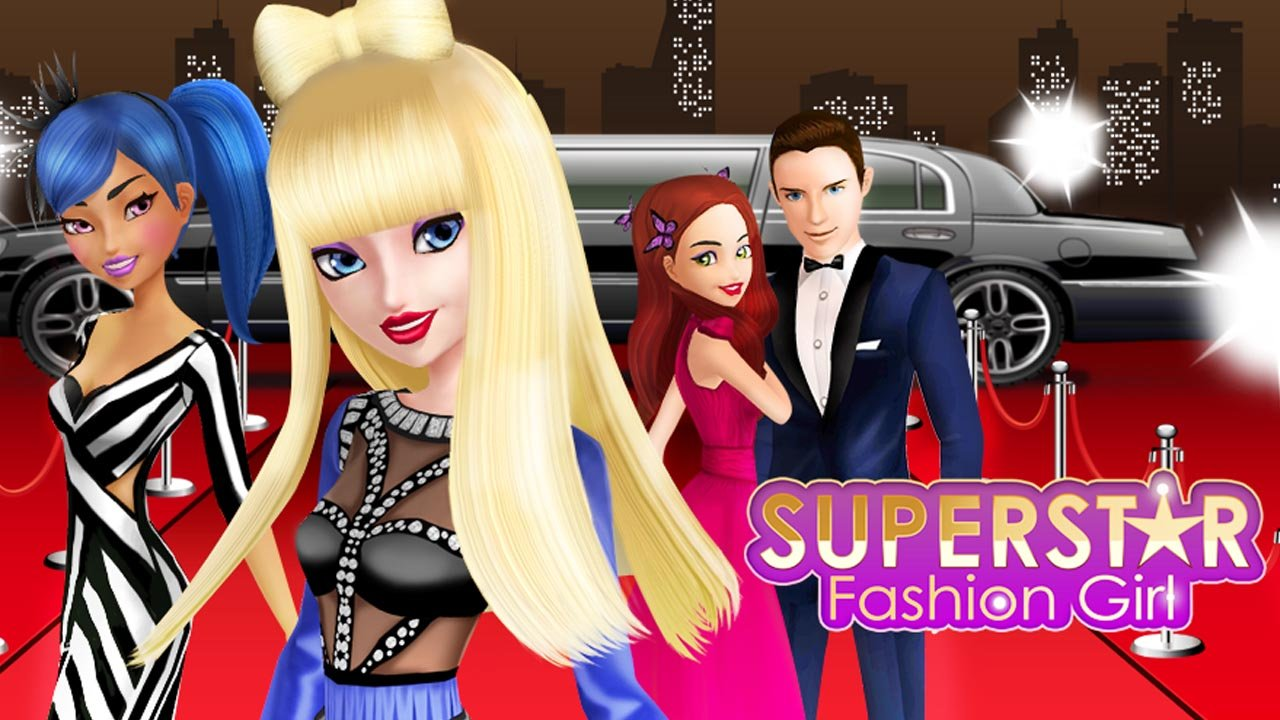 Superstar Fashion Girl poster