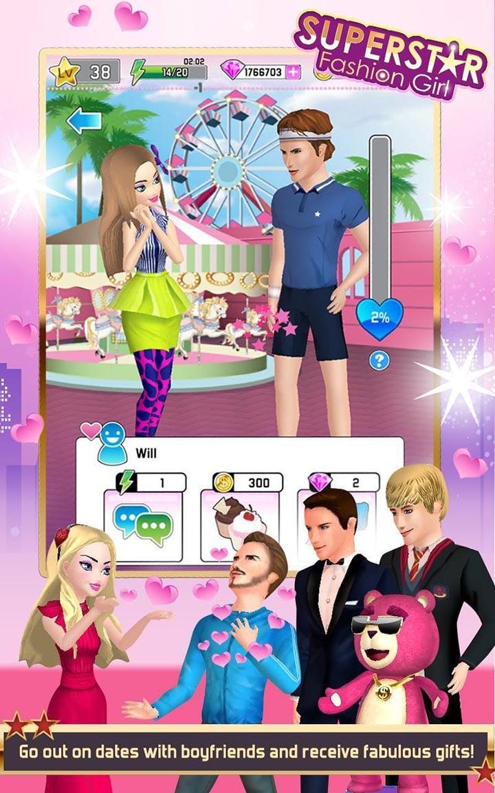Superstar Fashion Girl screen 1