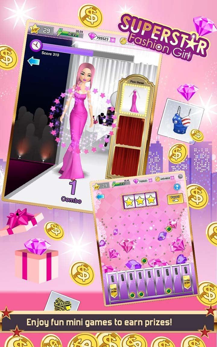 Superstar Fashion Girl screen 2