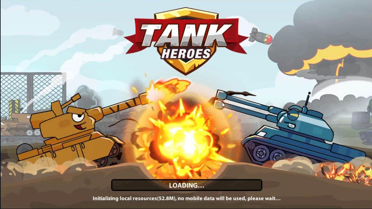 Tank Heroes poster