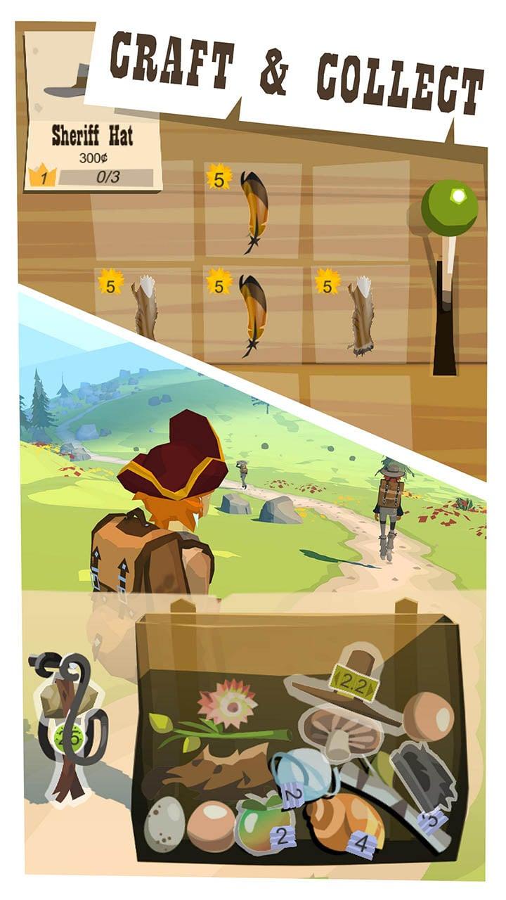 The Trail screen 1