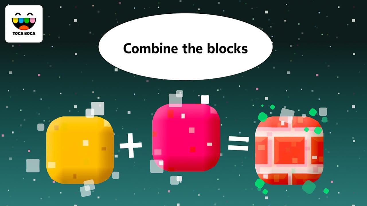 Toca Blocks screen 2