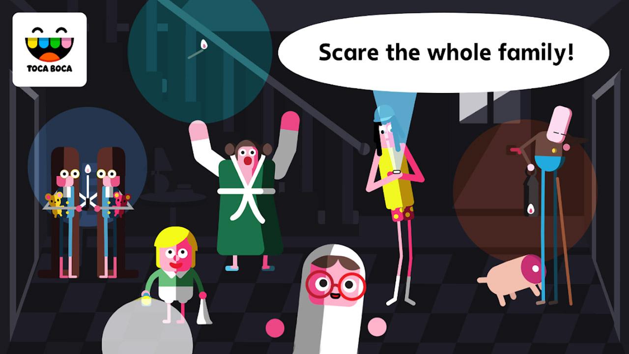 Toca Boo screen 1