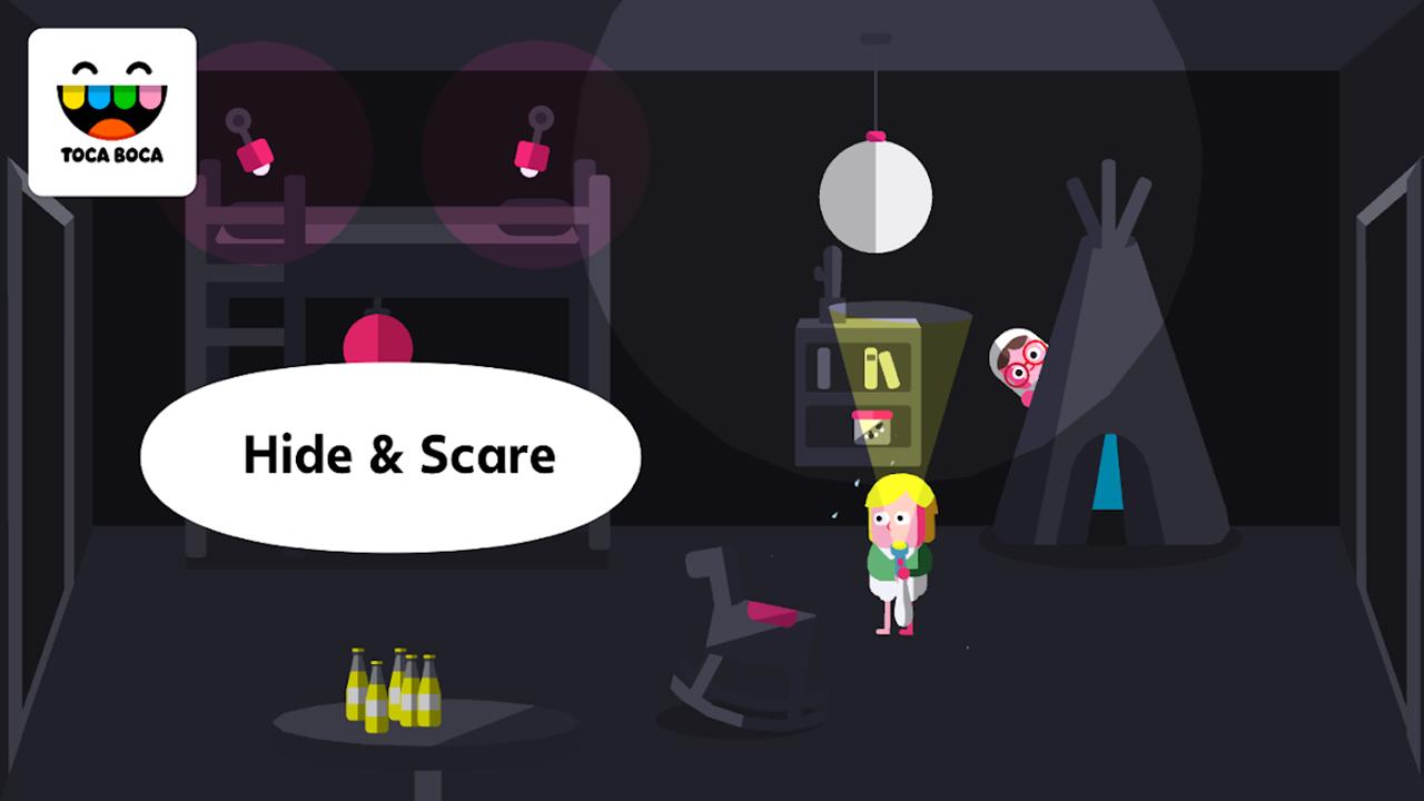 Toca Boo screen 2