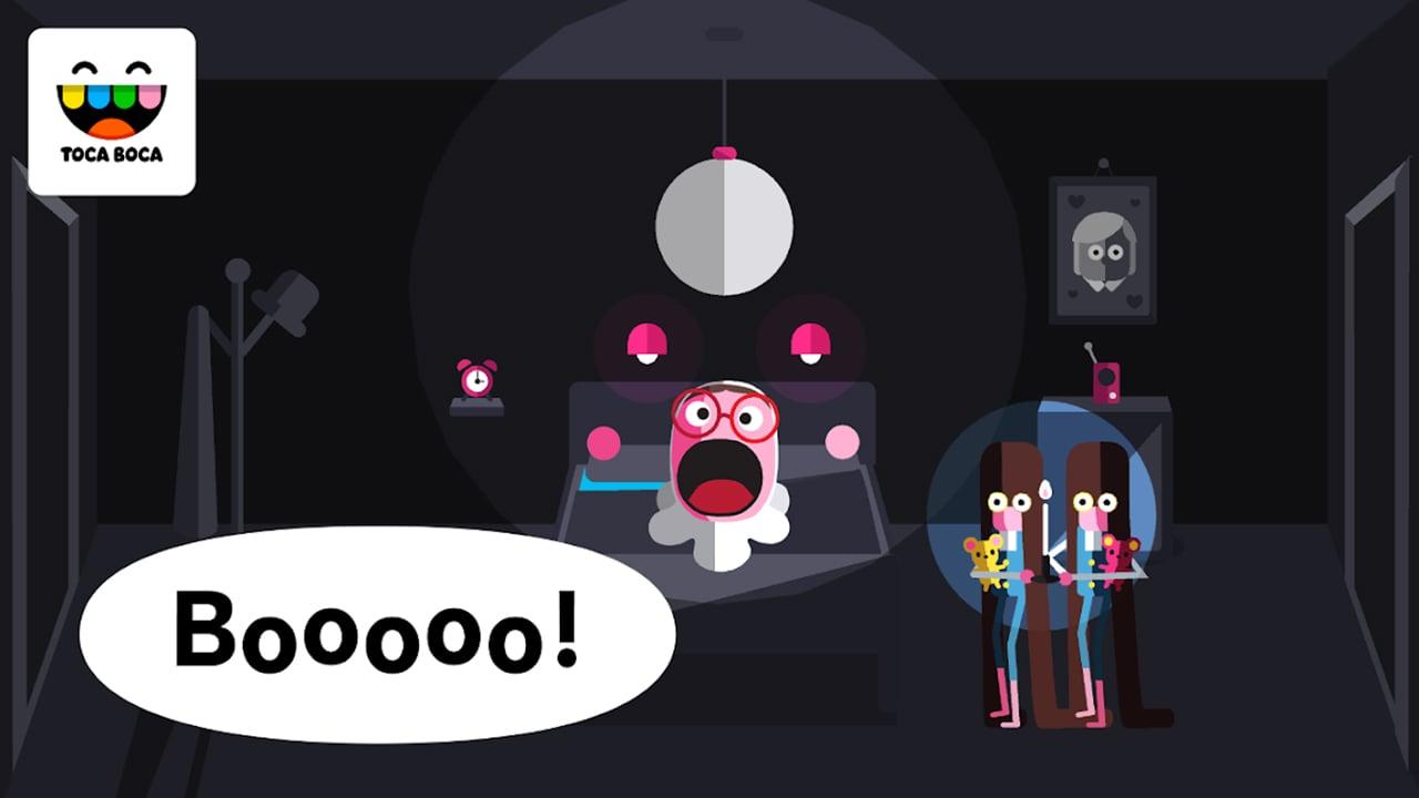 Toca Boo screen 3