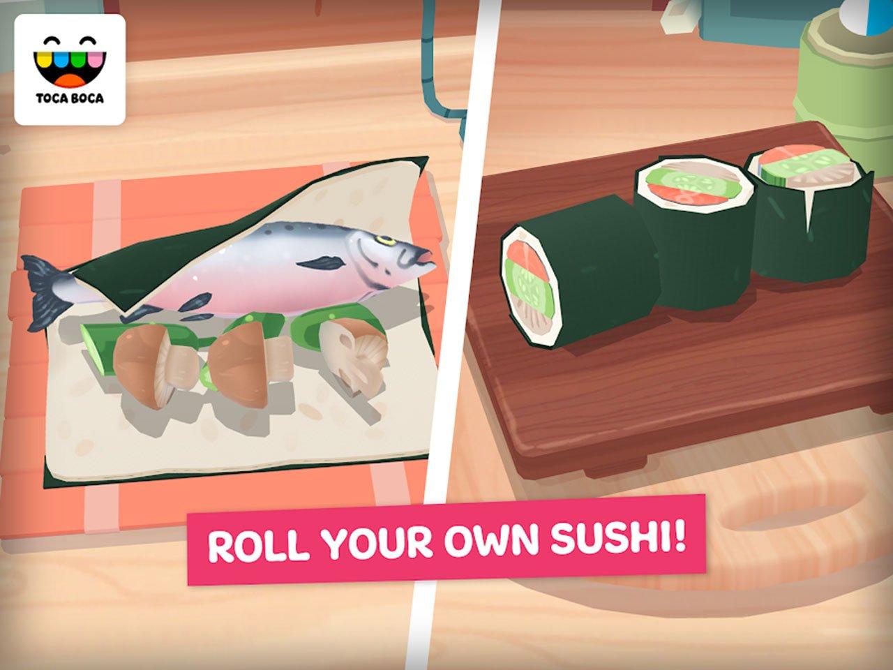Toca Kitchen Sushi Restaurant screen 2