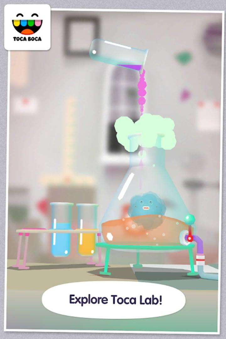 Toca Lab Elements screen 3