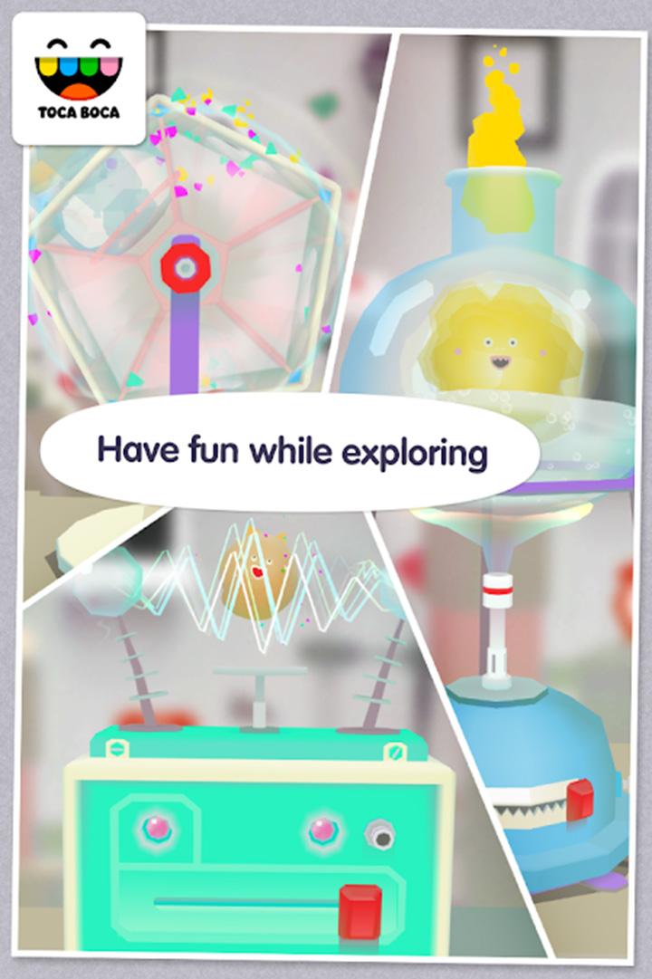 Toca Lab Elements screen 4