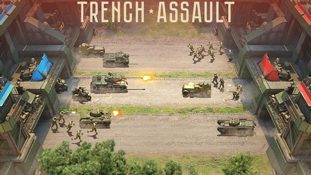 Trench Assault poster