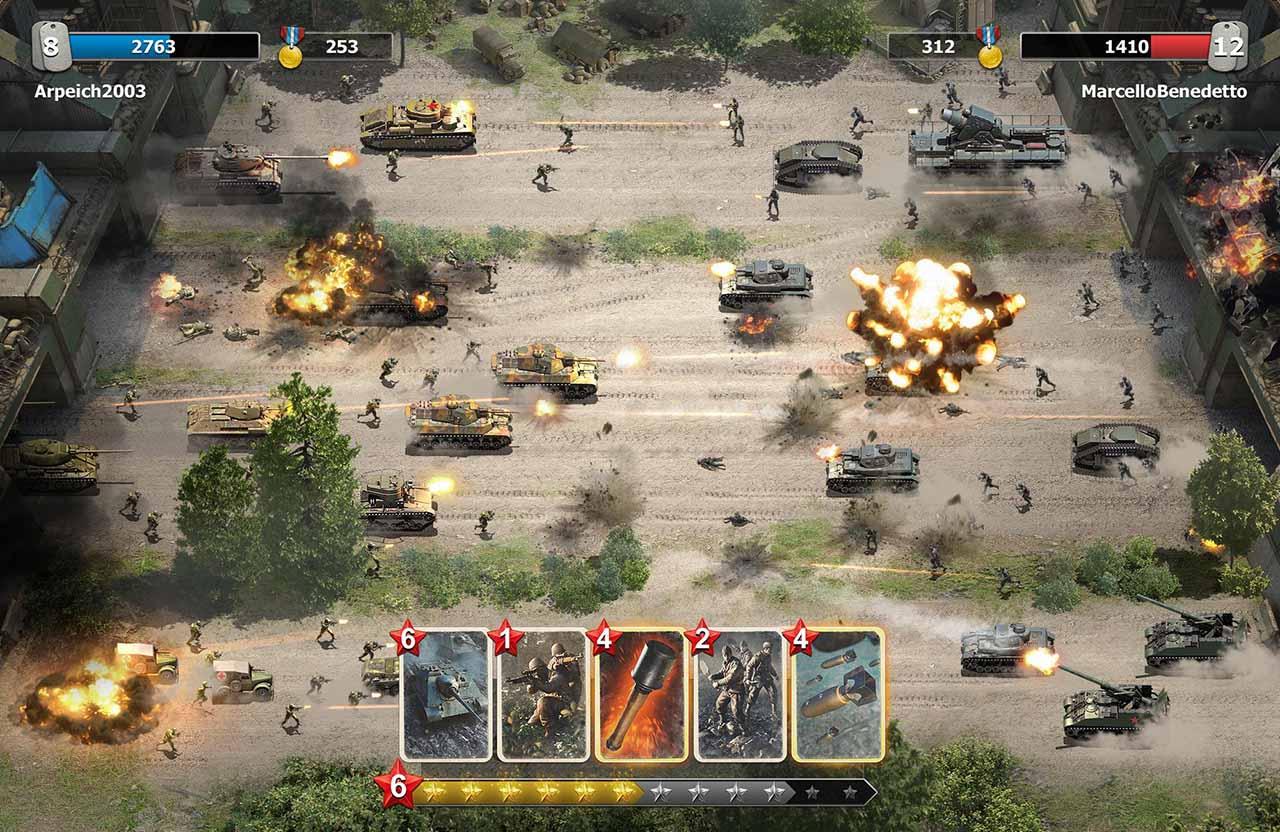 Trench Assault screen 0