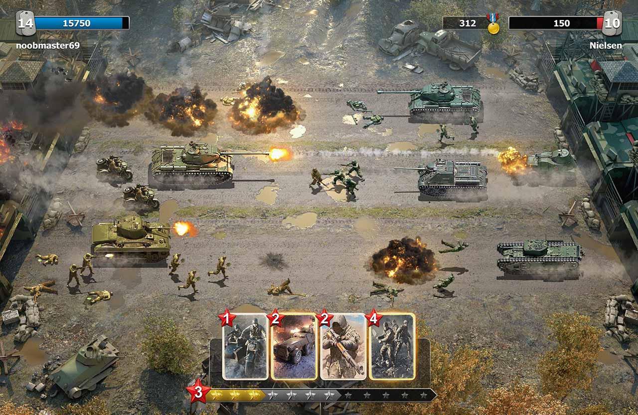 Trench Assault screen 1