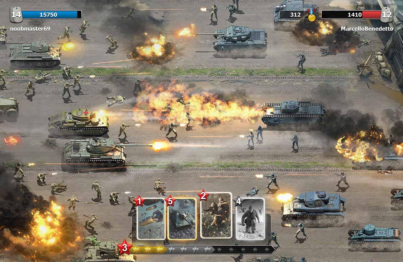 Trench Assault screen 2