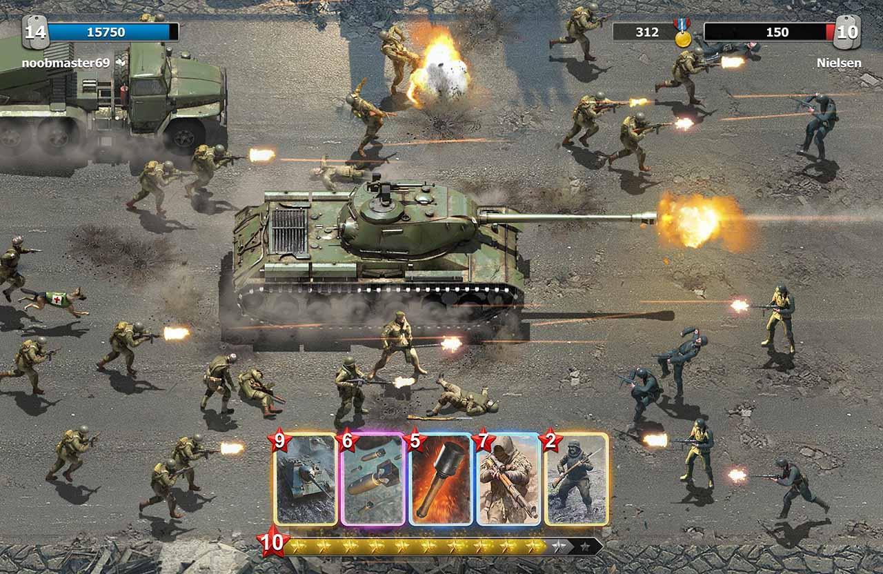 Trench Assault screen 3