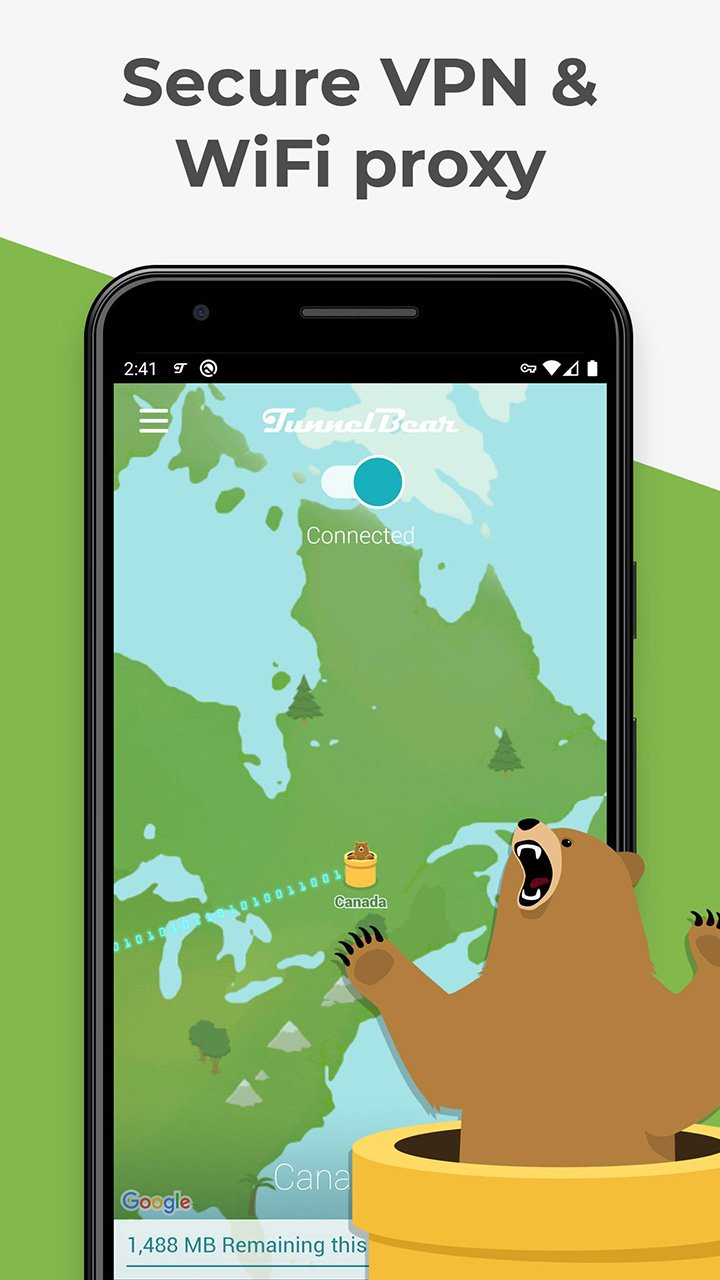TunnelBear MOD APK 3.5.29 Download (Premium) free for Android