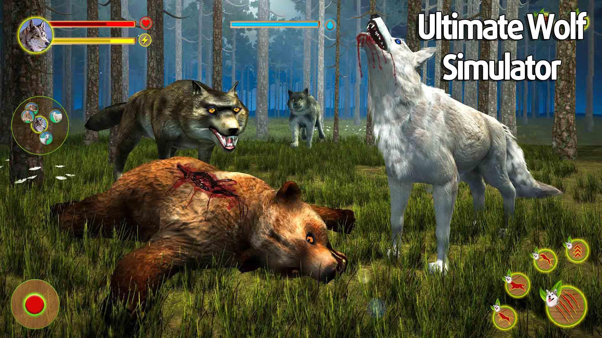 Ultimate Wolf Simulator poster