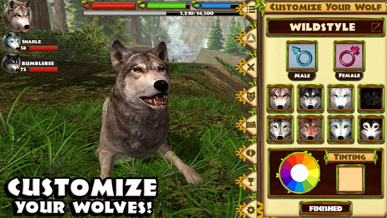Ultimate Wolf Simulator screen 1