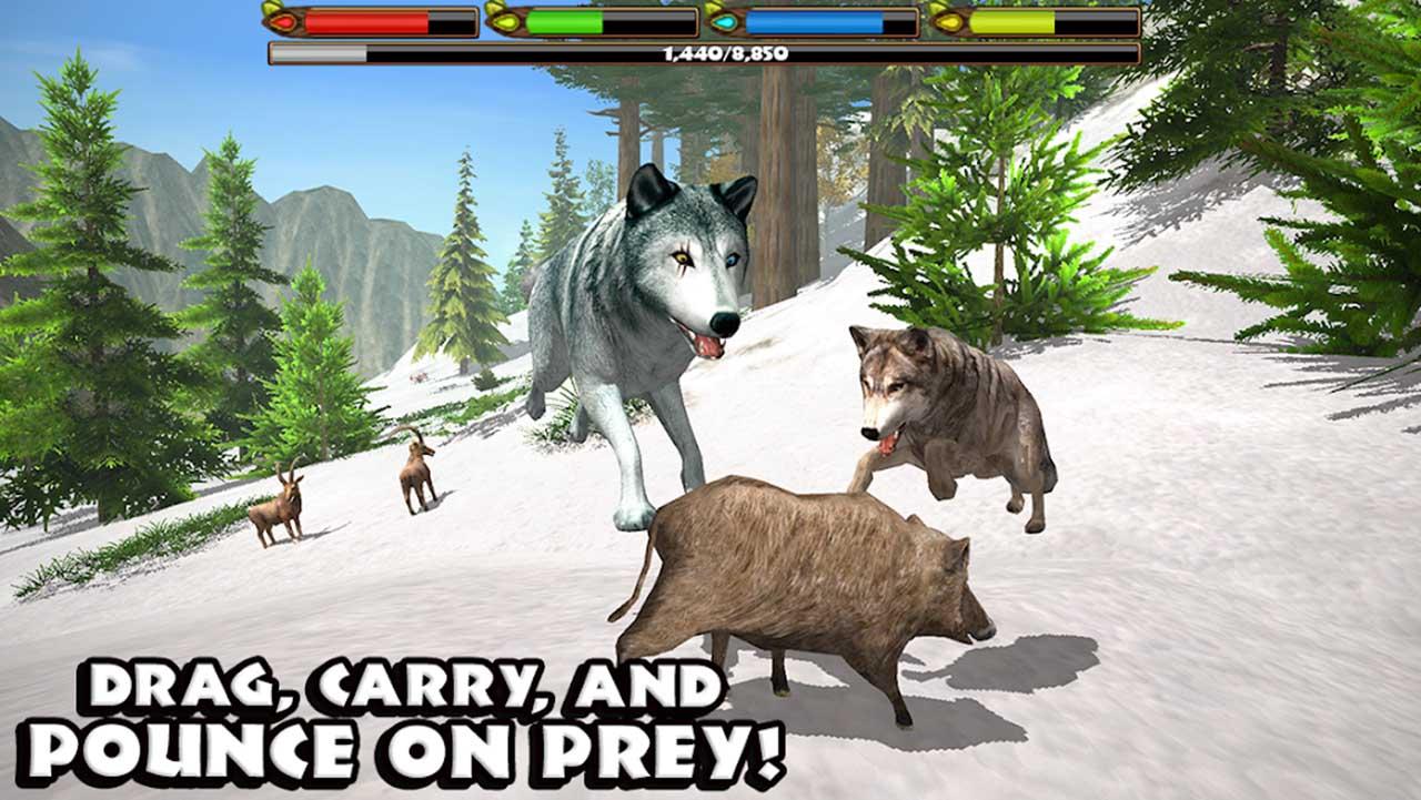 Ultimate Wolf Simulator screen 2