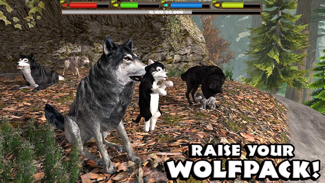 Ultimate Wolf Simulator screen 3