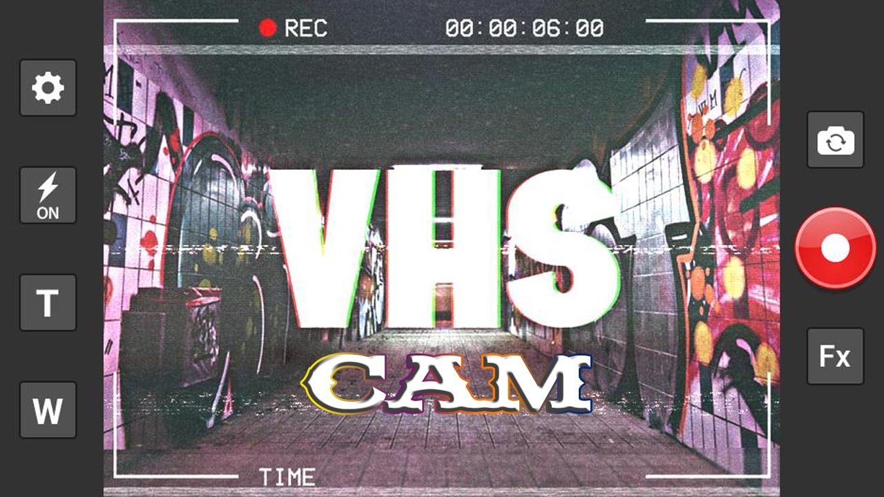 VHS Cam poster