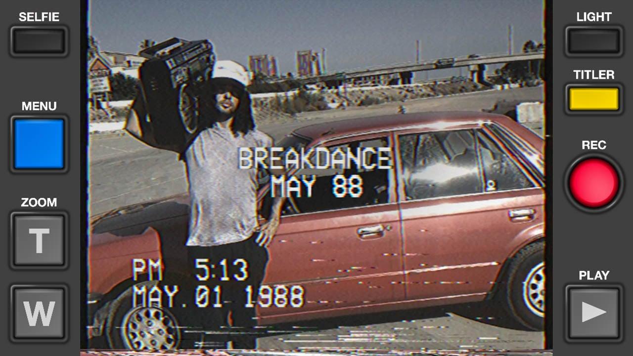 VHS Cam screen 2