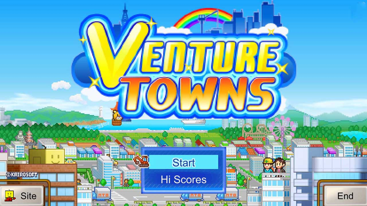 Venture Towns poster