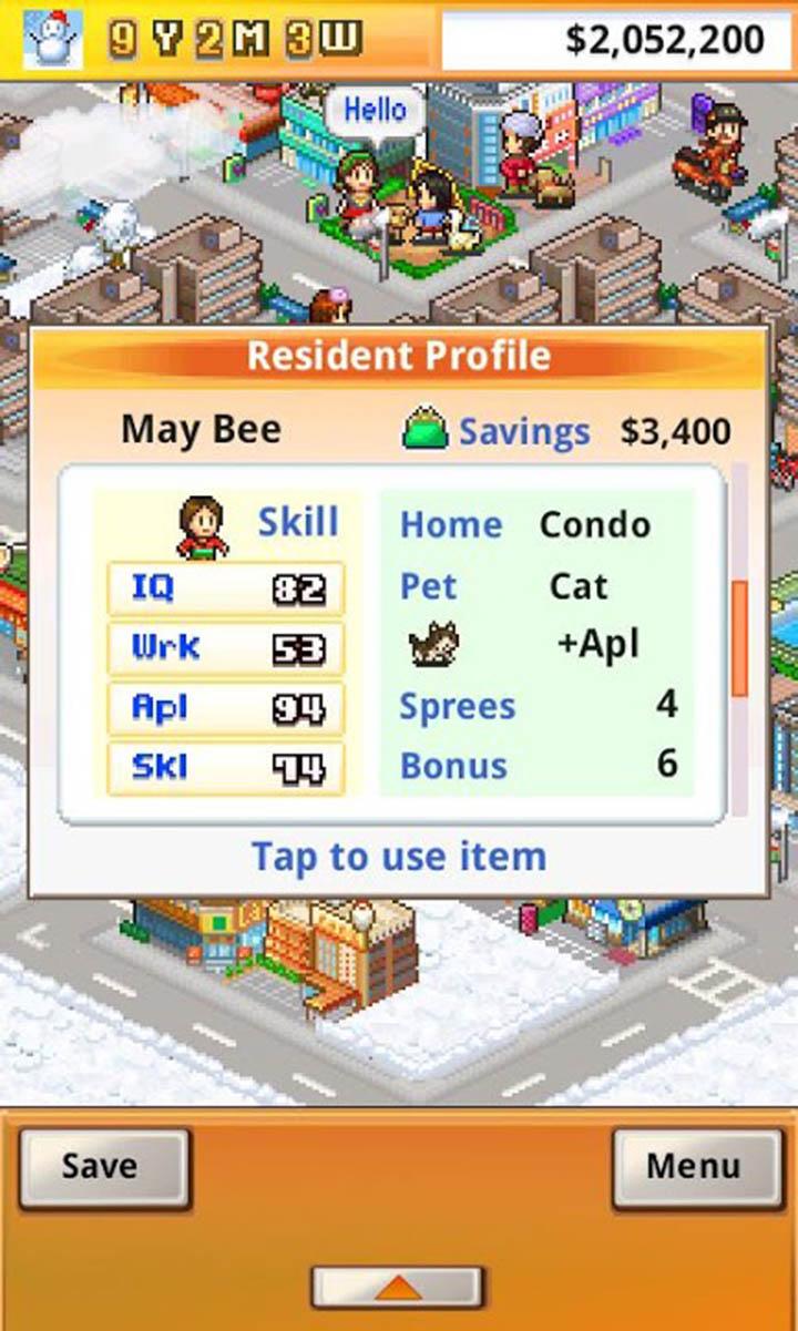 Venture Towns screen 1