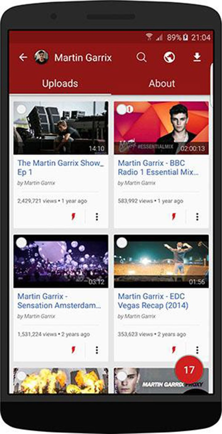 Videoder Beta screen 1