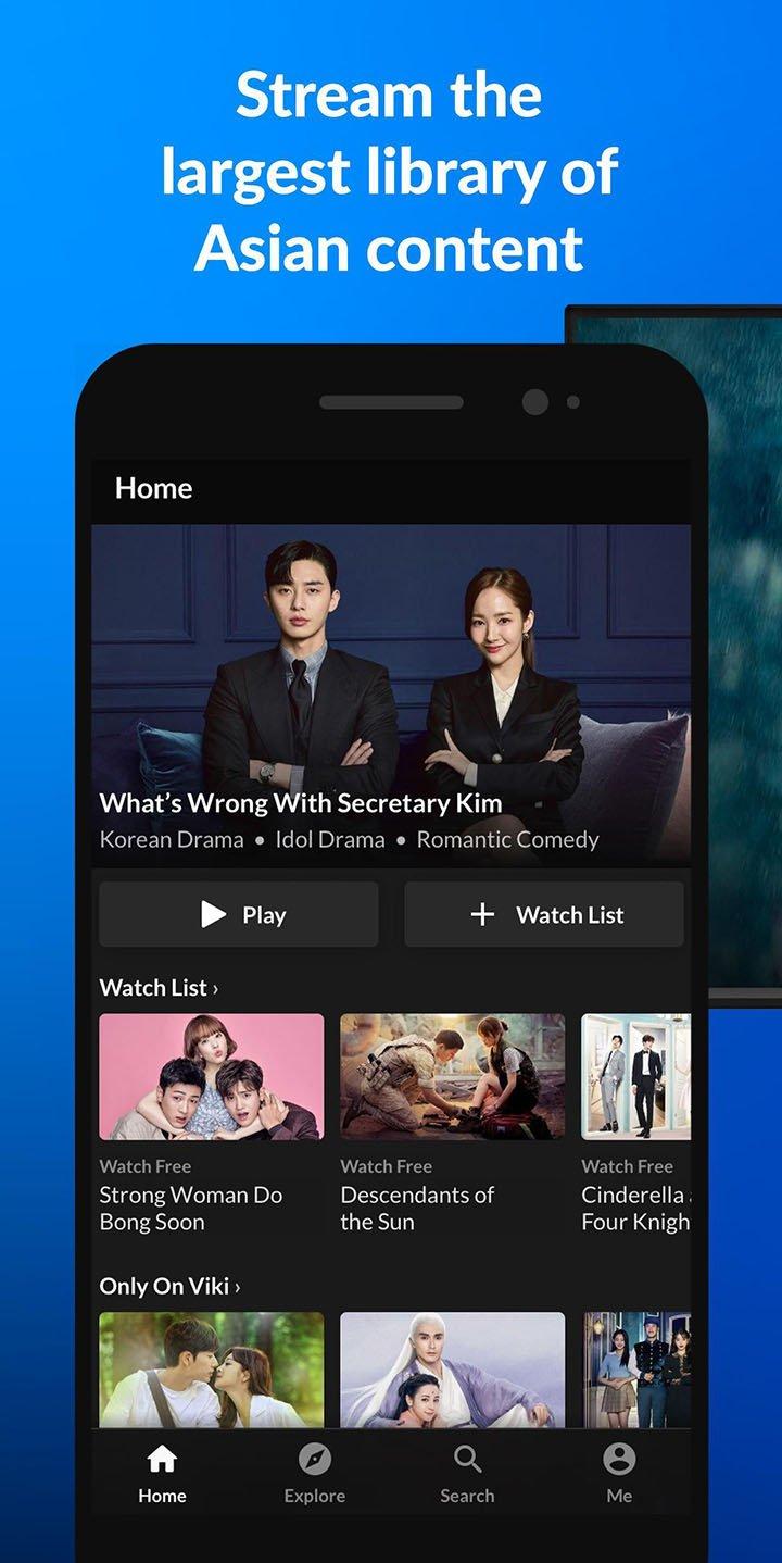 Viki Stream Asian TV Shows screen 0