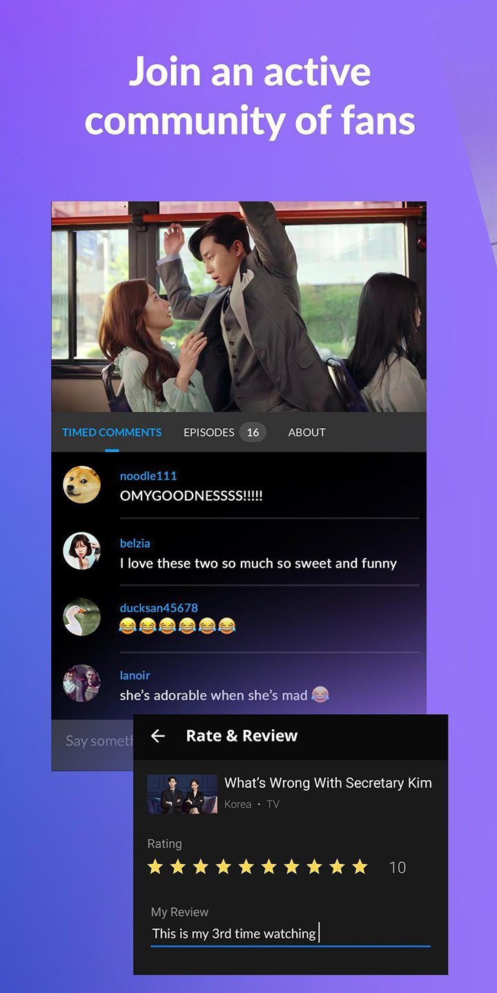 Viki Stream Asian TV Shows screen 3