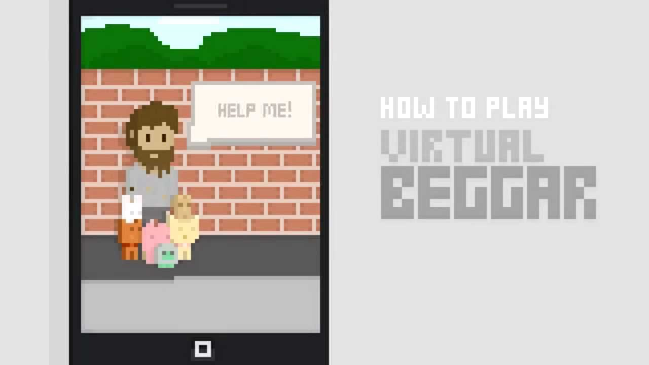 Virtual Beggar poster