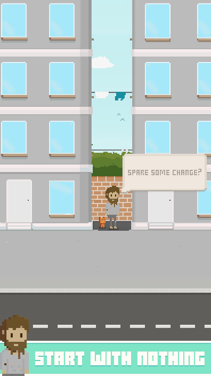 Virtual Beggar screen 0