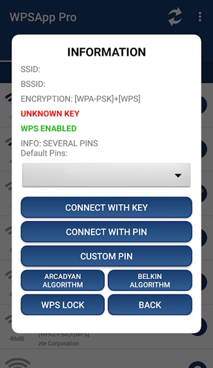 WPSApp Pro screen 2