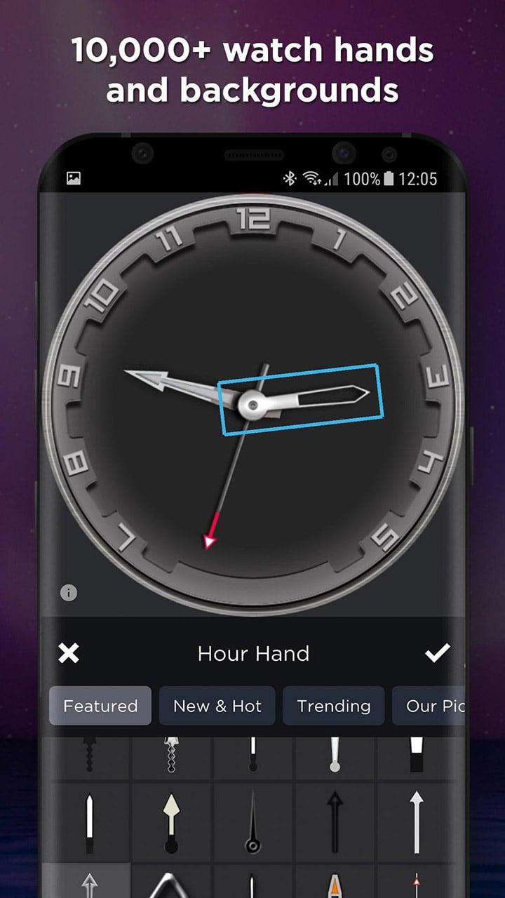 WatchMaker screen 2